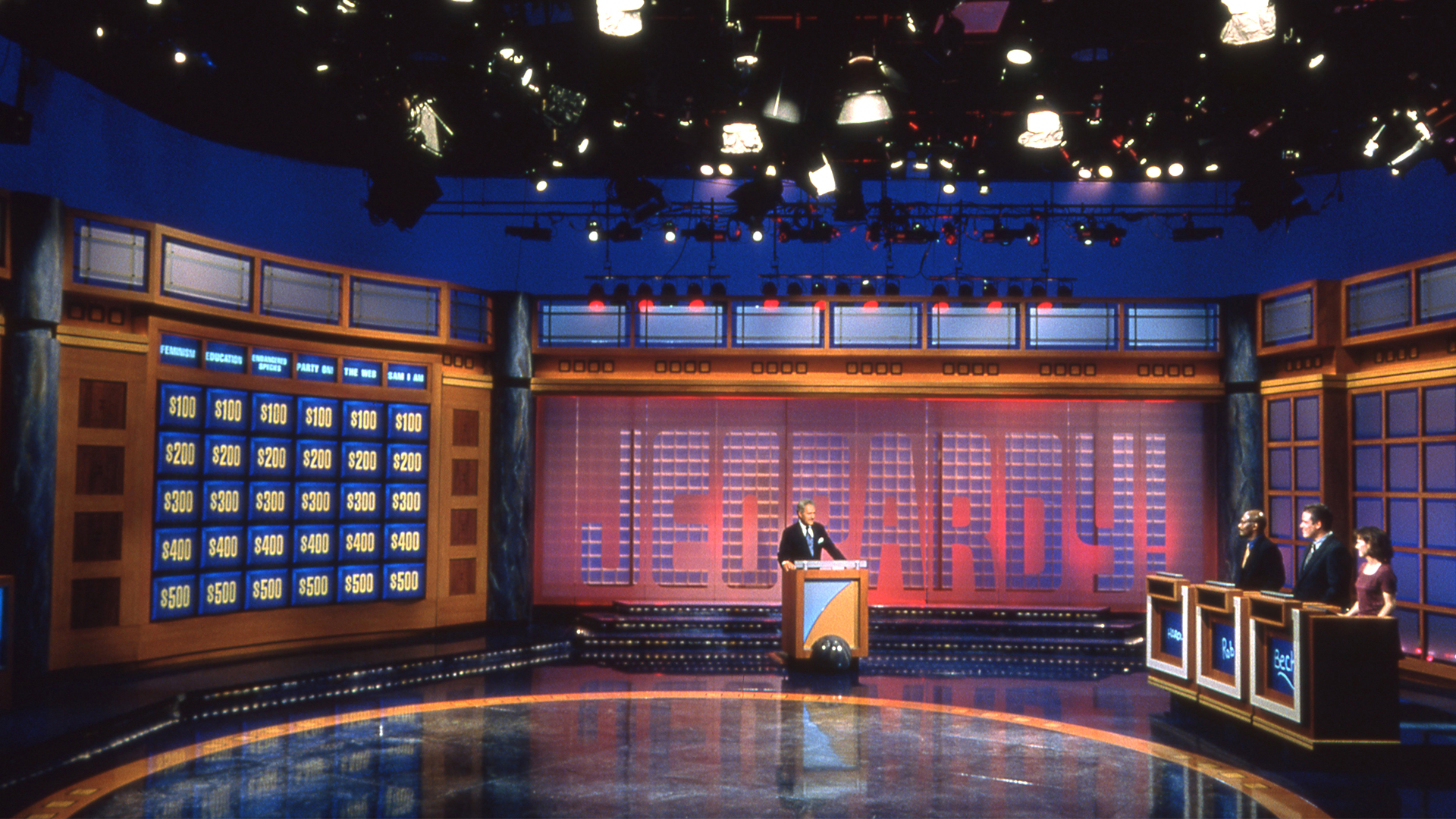 Jeopardy Video Conference And Zoom Backgrounds J Buzz Jeopardy Com