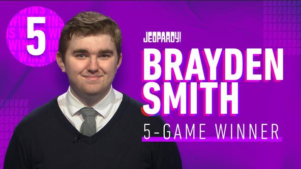 Brayden Smith 5 Game Winner